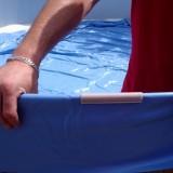 Соединение верхних направляющих чашкового пакета бассейна AZURO