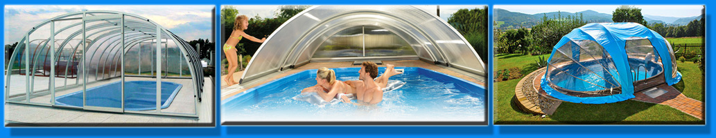 Павильоны для бассейнов из поликорбоната и мобильные