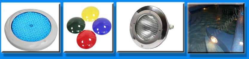 Прожектора и трансформаторы для бассейна