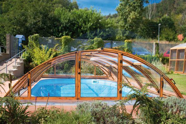 павильона для бассейна