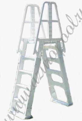 Лестницы для бассейнов - купить по цене от 9 411 руб в
