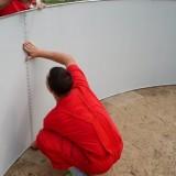 Соединение стены бассейна AZURO
