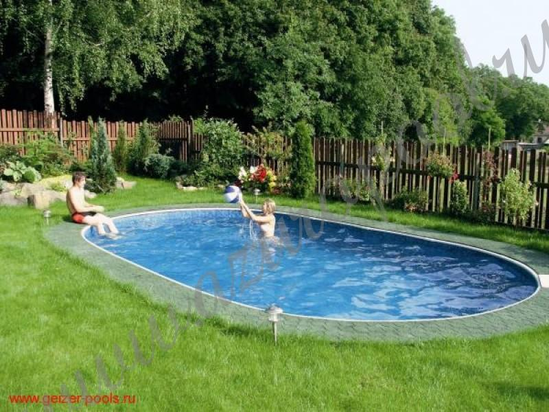 Каркасный бассейн AZURO.  Инструкция по установке, монтажу,  сборке.