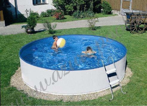 1c979534e6fa9 Бассейны для дачи белые (бассейны для детей) AZURO 360, 460 Mountfield  (Чехия
