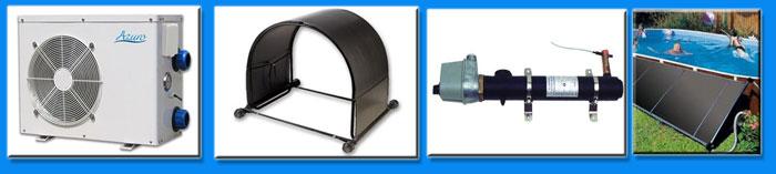 нагрев воды бассейна: электронагреватели, тепловые насосы, солнечные коллекторы, теплообменники